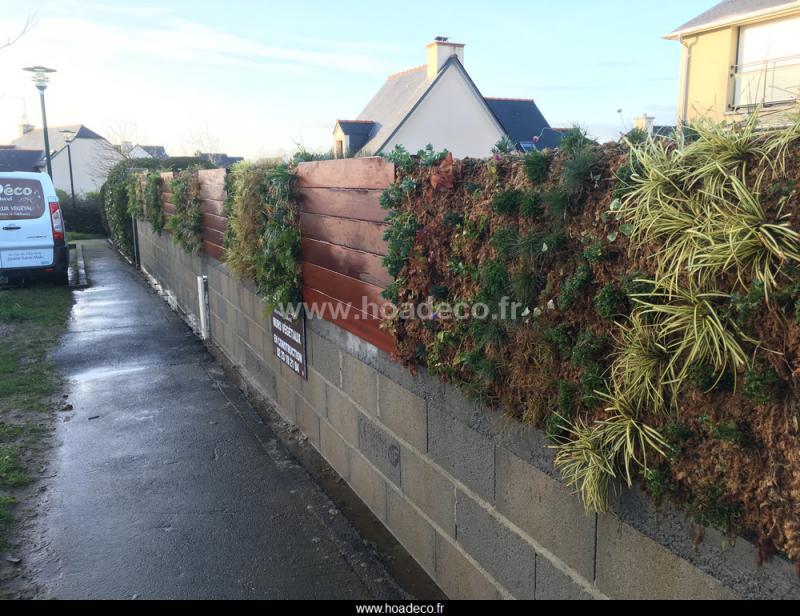 mur vgtalis extrieur fabriquer mur vegetal awesome. Black Bedroom Furniture Sets. Home Design Ideas